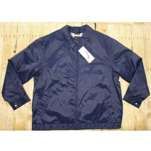 Nike Nylon jacket bomber swoosh quilted mens L